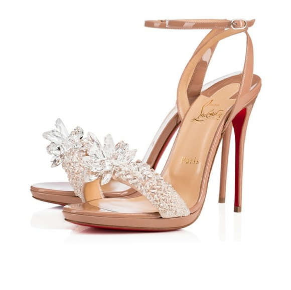 b55dd0c1c271 Christian Louboutin Shoes - Christian Louboutin Crystal Queen Embellished